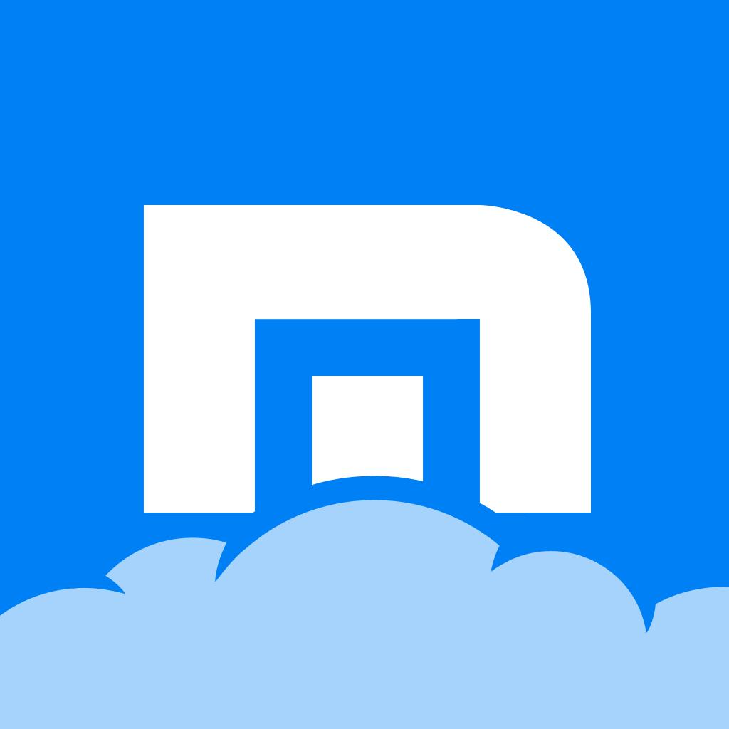 Il logo del browser web Maxthon.