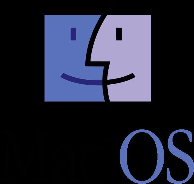 Il logo del sistema operativo Mac OS Classic.