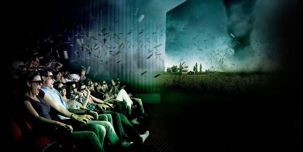 Stanchi del 3D? Arriva il cinema 4D!