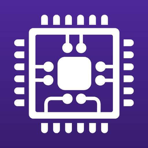 Il logo del programma CPU-Z.