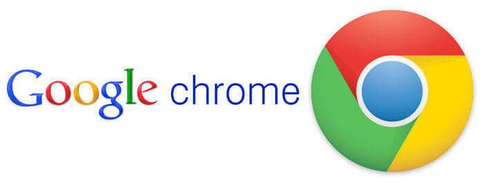 Il logo di Google Chrome.