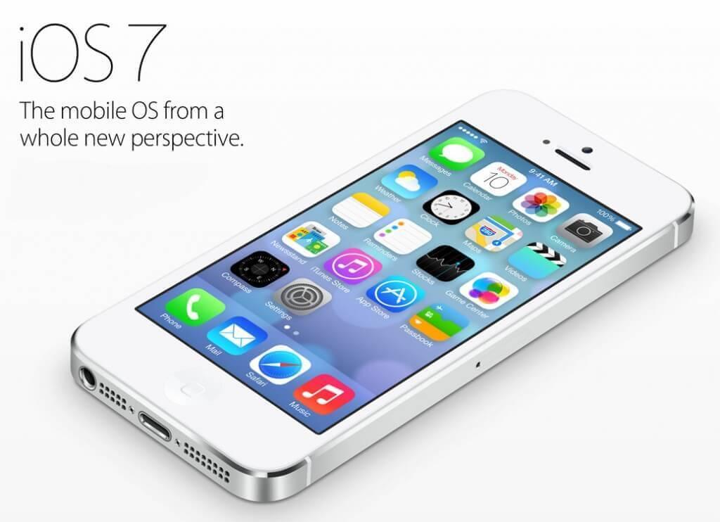 iOS 7 sfoggia una grafica tutta nuova in stile flat, rispetto alle vecchie versione del sistema operativo.