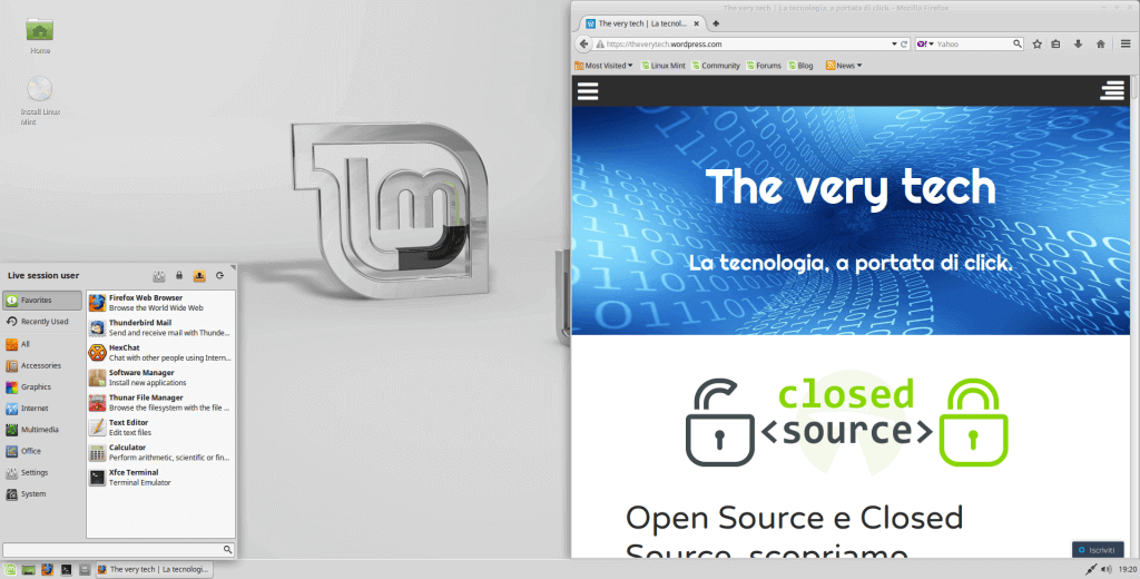 Abbiamo finalmente installato il sistema operativo sulla nostra macchina virtuale!