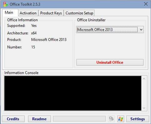 Schermata relativa alle informazioni della suite Microsoft Office installata sul proprio PC.