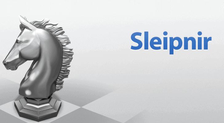 Il logo del browser web Sleipnir.