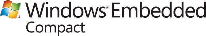 Windows CE, il primo sistema operativo mobile della Microsoft.