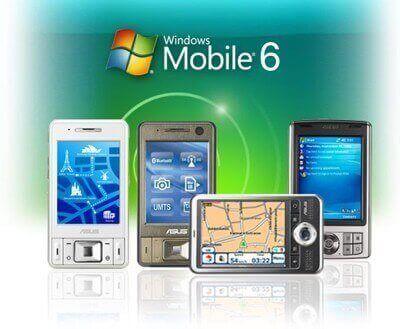 Windows Mobile 6, sistema operativo basato su Windows CE 5.2 rilasciato nel 2007.