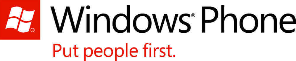 Il logo di Windows Phone, sistema operativo mobile della Microsoft, successore di Windows Mobile.