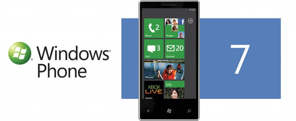 L'innovativa interfaccia grafica basata sui Tiles di Windows Phone 7.