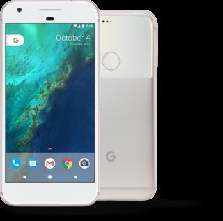 Google Pixel nella colorazione Very Silver