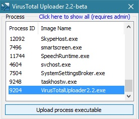 virustotal-uploader-elenco-processi