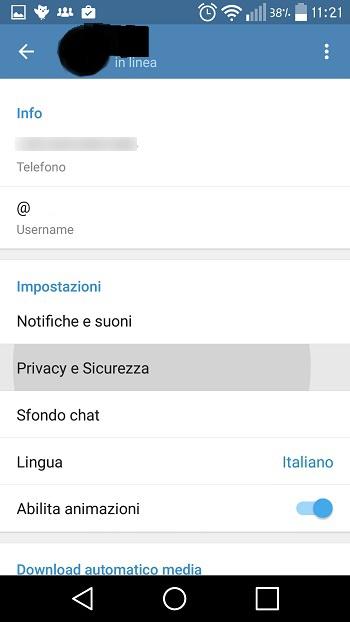 Sicurezza aggiuntiva grazie all'autenticazione a due fattori di Telegram